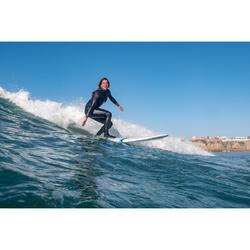 Wetsuit voor surfen dames 500 fullsuit 4/3 rugrits