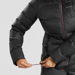 Chamarra Plumón Montaña y Trekking TREK 900 Acolchada Mujer Negro