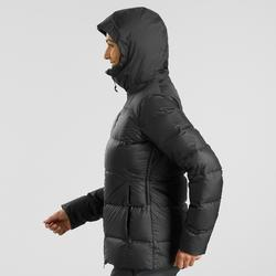 Doudoune trekking montagne TREK 900 Duvet femme noir