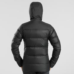 Donsjas voor bergtrekking dames Trek 900 zwart
