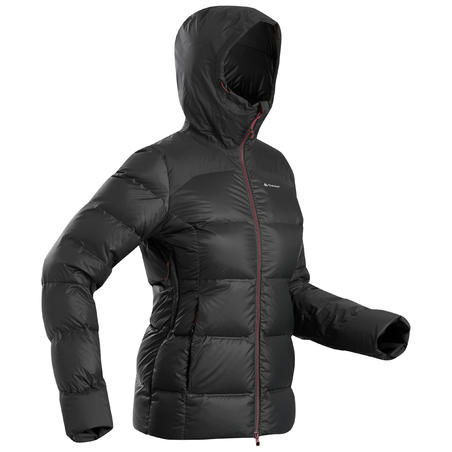 Women's Mountain Trekking Down Jacket Trek 900 - Black