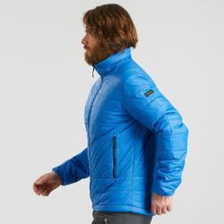 Doudoune en ouate de trek montagne - confort -5°C - TREK 100 bleu homme