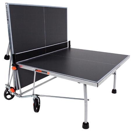 Mesa de ping pong artengo ft830 outdoor artengo for Mesa ping pong exterior