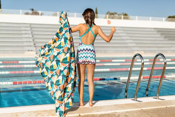 Zwem handdoeken