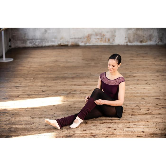 Beenwarmers voor ballet en moderne dans dames paars