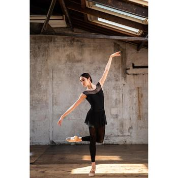 Zapatillas de Ballet Domyos Niña y Mujer Doble Suela Tela Stretch Rosa