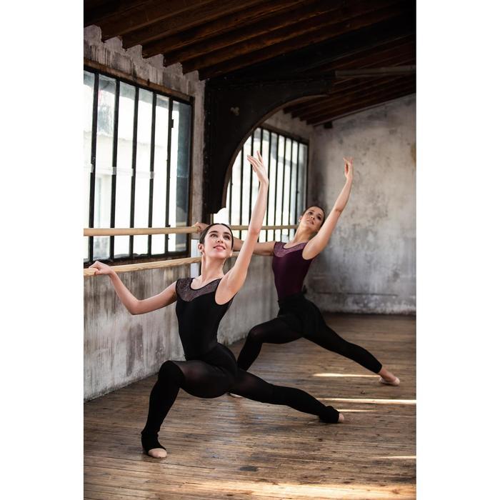 Jambières de danse classique et moderne noires femme