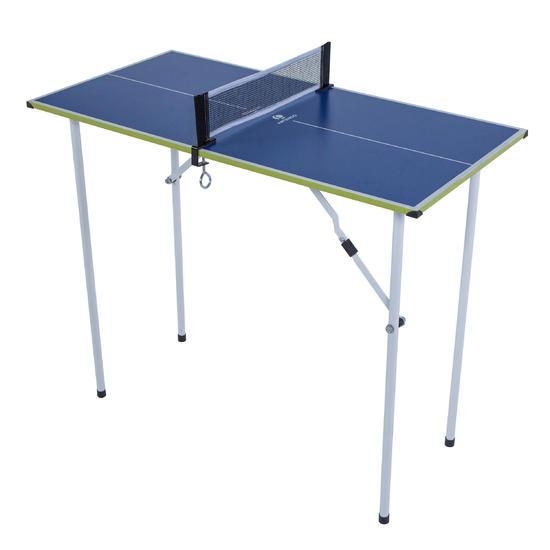 Mini Tafeltennistafel FT Micro blauw - 166325
