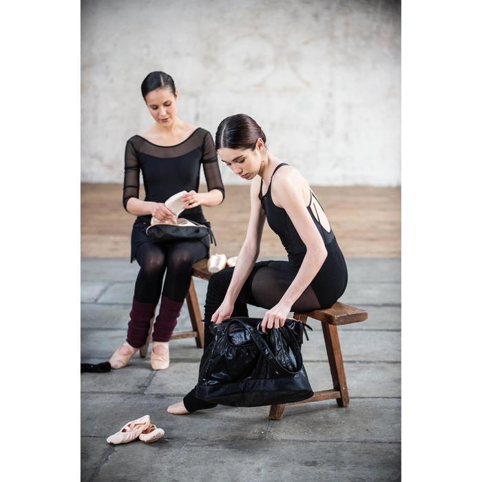 Tanzbody Ballett Langarm Damen schwarz