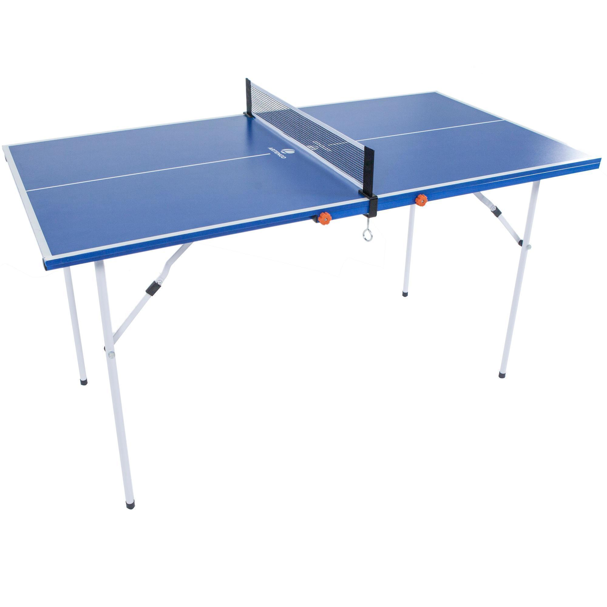 Mini ft free table tennis table artengo for Table tennis