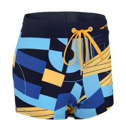 Men's Swimming Boxers 100 - Pep Block Yellow