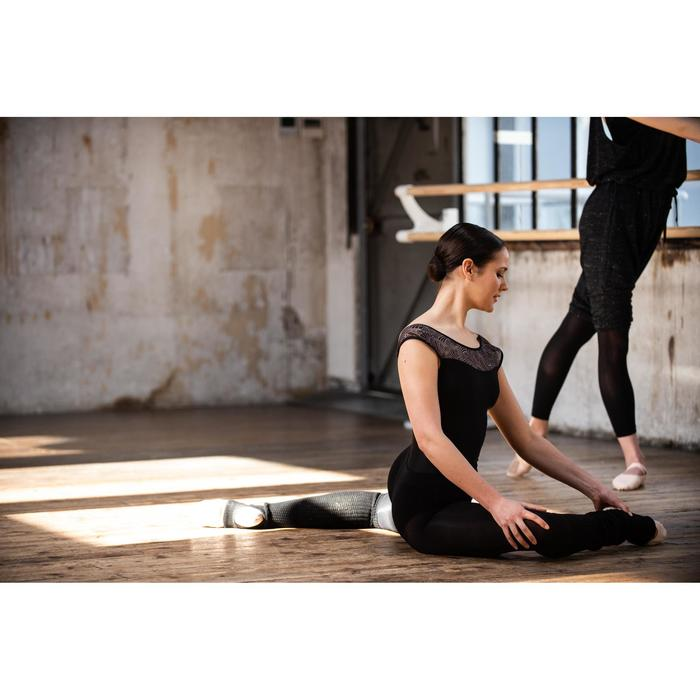 Beenwarmers enkel & wreef voor dans dames zwart