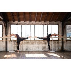 Jupette danse classique noire en voile femme