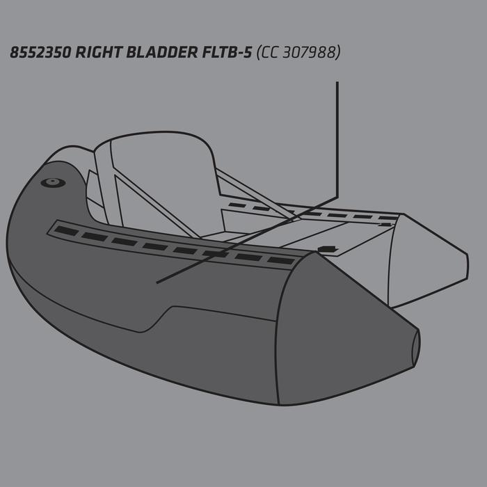 VESSIE DROITE FLOAT TUBE FLTB-5