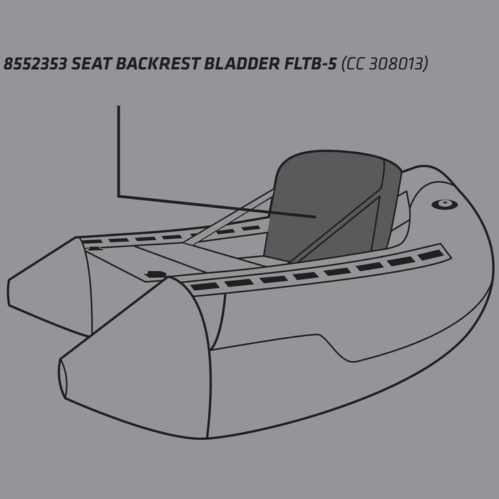 VESSIE DOSSIER FLOAT TUBE FLTB-5