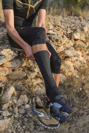 Pelindung kaki untuk orienteering