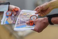 500 Racer Left-thumb Compass