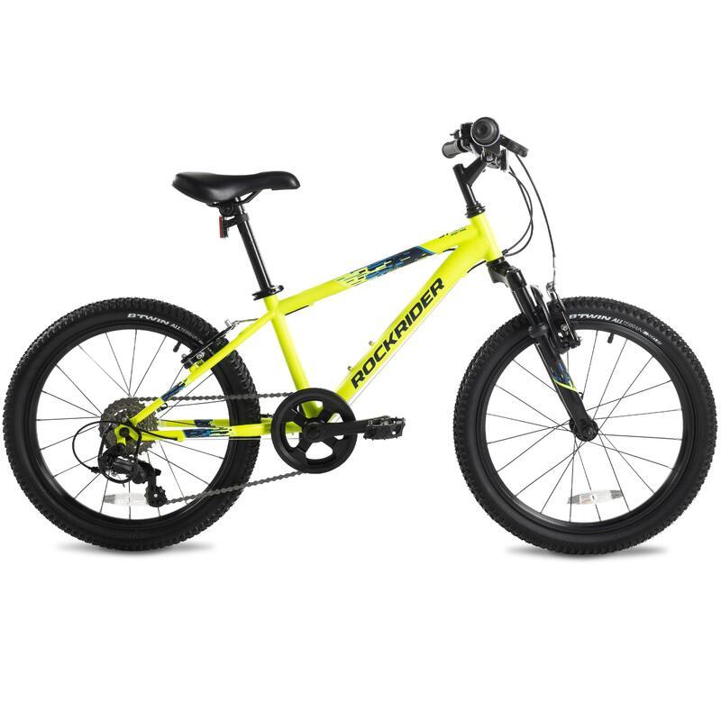 "20"" ST 500 Kid MTB - Neon Yellow"