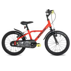 "900 16"" 4-6 Years Aluminium Racing Bike - Red 35"