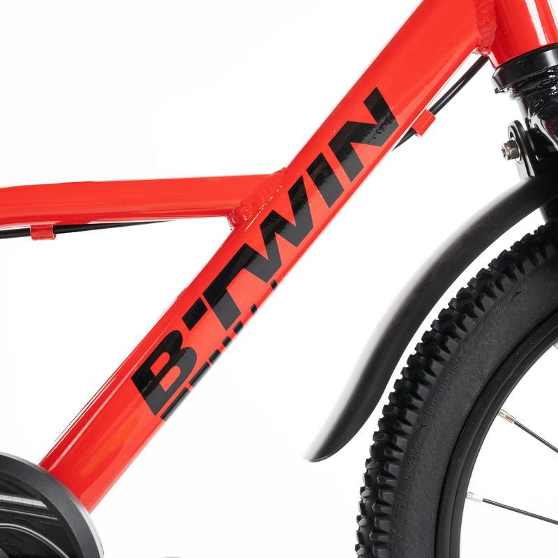 """Racing 900 16"""" 4-6 Years Aluminium - Red"""