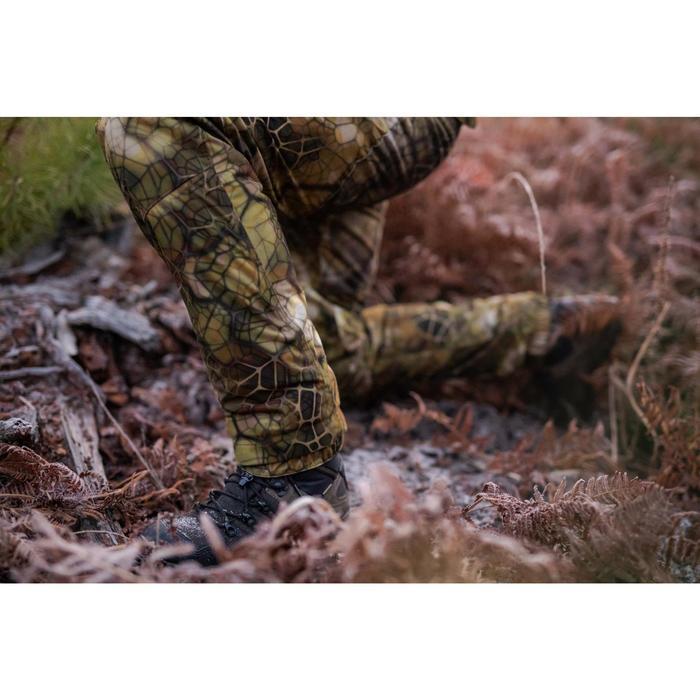 Pantalon chasse Silencieux Imperméable Chaud 900 camouflage FURTIV