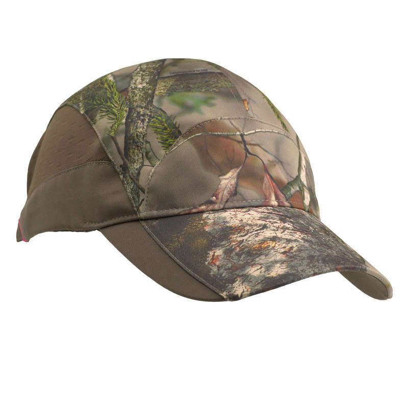 HUNTING WOMEN CLOTHING Shooting and Hunting - Women's Cap 500 - Camo Br SOLOGNAC - Hunting and Shooting Clothing