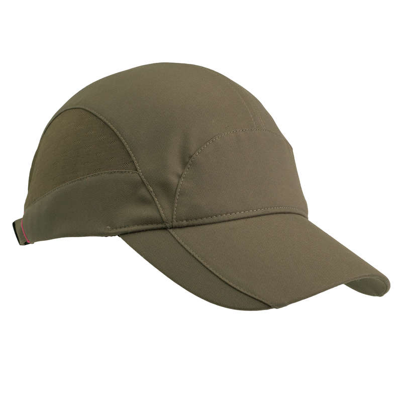 HUNTING WOMEN CLOTHING Shooting and Hunting - Women's Cap 500 - Brown SOLOGNAC - Hunting and Shooting Clothing
