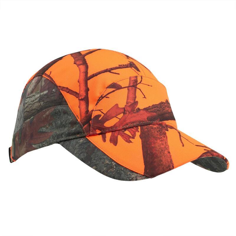 Cappellino leggero traspirante caccia donna 500 KAMO-BL