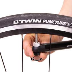 Mini-Handpumpe Rennrad schwarz