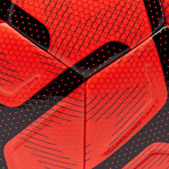 Ballon de Foot5 Society 500 taille 4 Orange / Noir