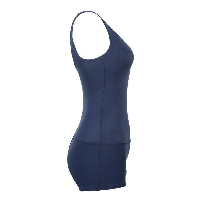 女款單件式連身泳裝Heva海軍藍