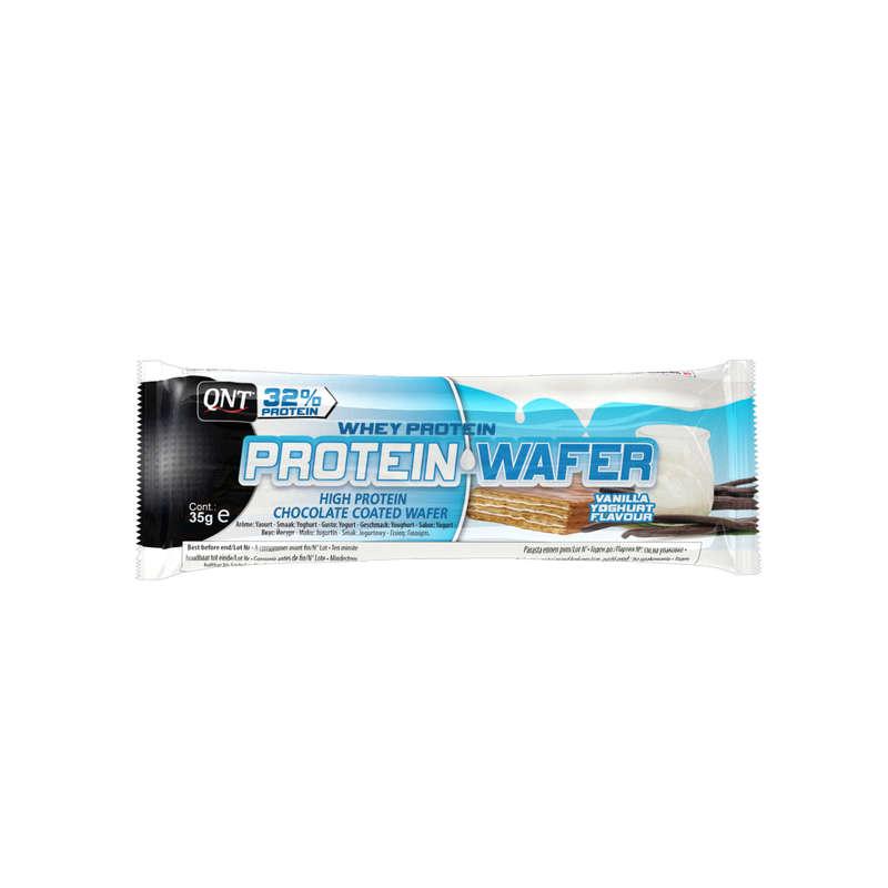 ПРОТЕИНЫ, БИОЛОГИЧ АКТИВ ДОБАВКИ Спортивное питание - Протеин.батончик Wafer Ваниль QNT - Спортивное питание