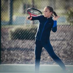 Thermische tennisbroek voor meisjes 500 marineblauw