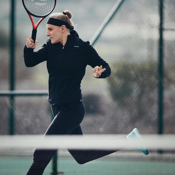 女款網球外套JK Dry 900-黑色