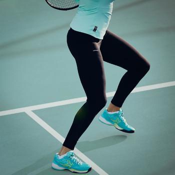 Damesthermobroek voor tennis Leg TH 900 zwart