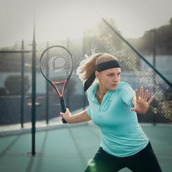 網球頭巾-黑色