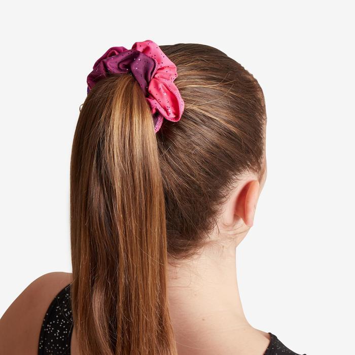 Scrunchie voor artistieke gymnastiek roze tinten