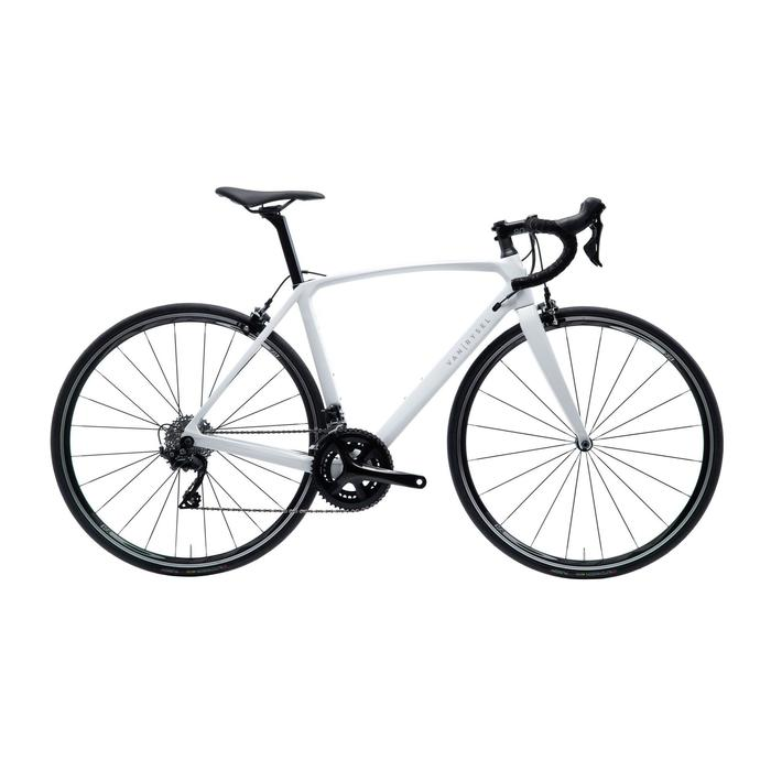Racefiets / wielrenfiets dames Ultra RCR carbon frame Shimano 105 wit