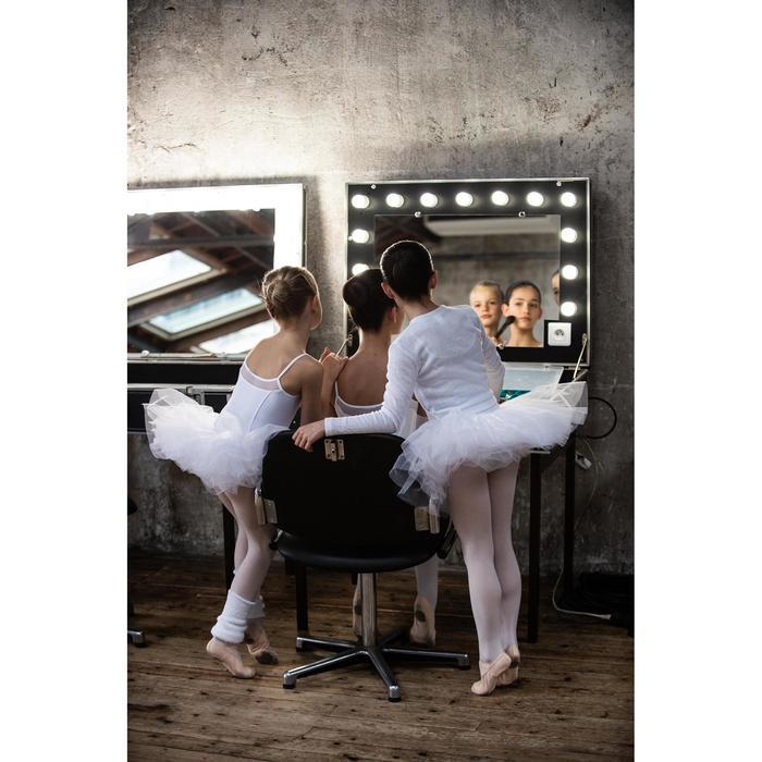Tanz-Wickeljacke Mädchen weiß