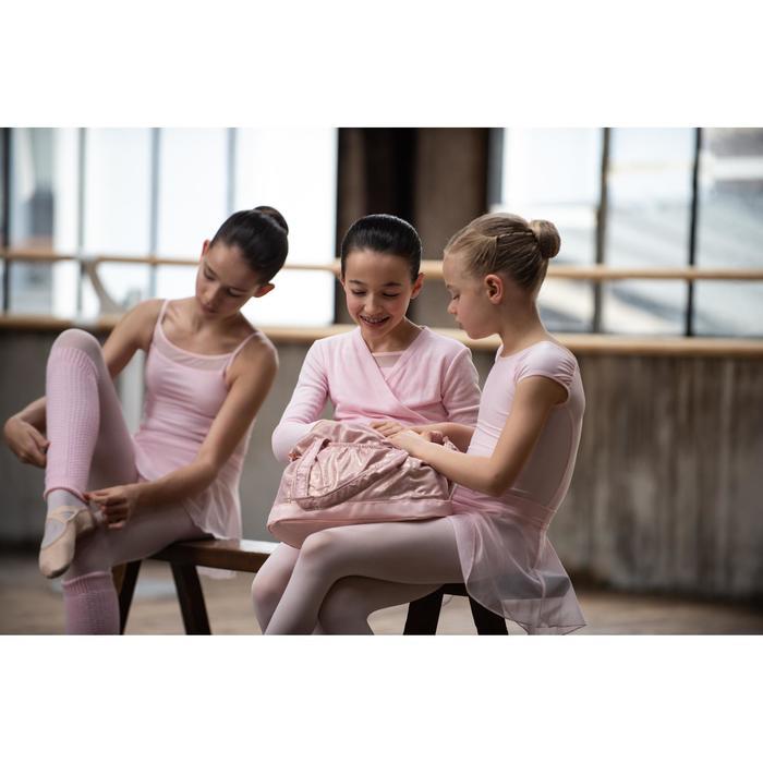 Bolsa Ballet Domyos Niña Rosa Dorado