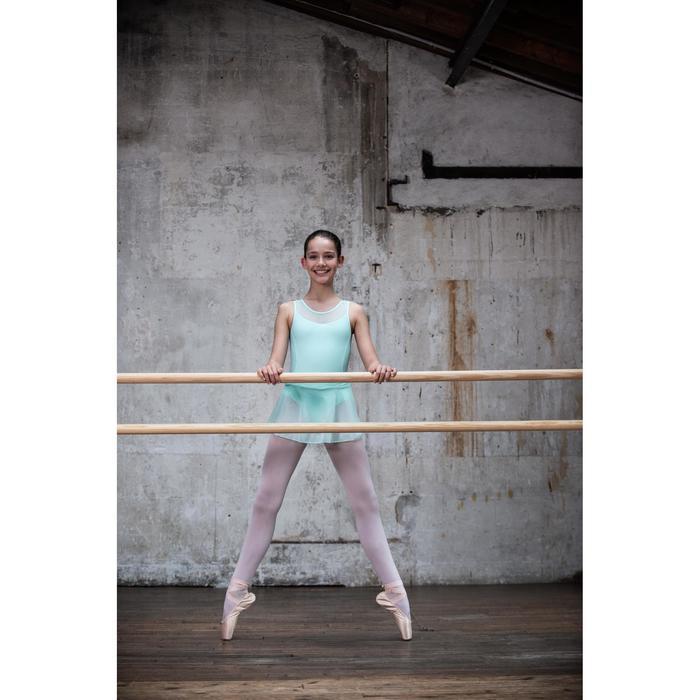 99c10fb7a Maillot Ballet Domyos Niña Dos Tejidos Rosa