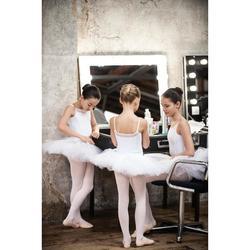 Tutu de Gala de Dança Clássica Branco Menina