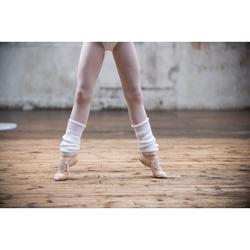 Tanzstulpen für Ballett und Modern Dance Mädchen weiß