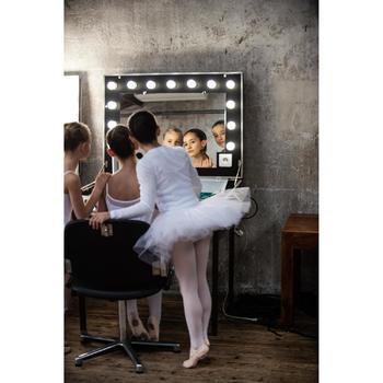 Set voor knotje klassieke dans dames en meisjes bruin