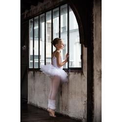 Tutu plateau danse classique blanc fille