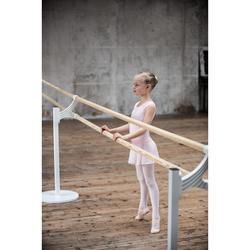 Maillot Ballet Domyos Niña Manga Corta Rosa