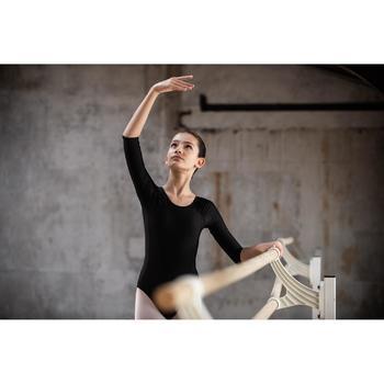 Balletpakje met lange mouwen voor meisjes zwart