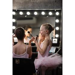 Balletpakje met smalle bandjes voor meisjes roze