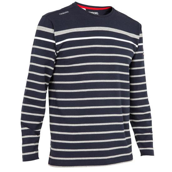 T-shirt met lange mouwen zeilen 100 heren - 166561