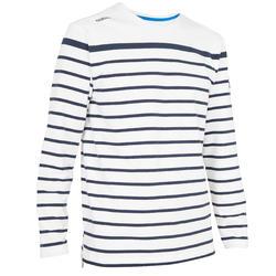 T-shirt met lange mouwen zeilen 100 heren